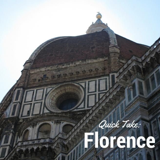 Quick Take_Florence